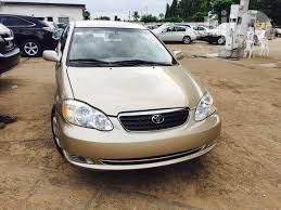 price of toyota corolla 2003 toyota corolla 2004 gold for sale in minna buy cars from gentry