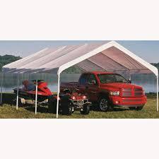 Door Canopy Kits B Q by Super Max Canopy 18 U0027 X 20 U0027 Shelterlogic 26773 Instant Garages
