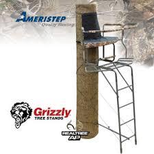 Ameristep Tree Stand Blind Ameristep Grizzly 15 U0027 Wrap Around Ladder Stand Ameristep