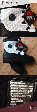 totes s winter boots size 11 nwt totes size 11 winter boots black and white nwt boot