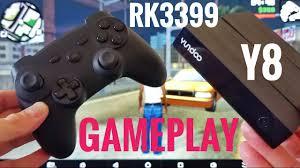 yundoo y8 rk3399 gameplay test gta sa real racing 3 asphalt 8