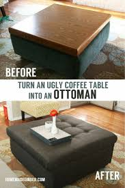 Diy Storage Ottoman 25 Unique Homemade Ottoman Ideas On Pinterest Diy Storage