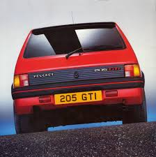 peugeot cat peugeot 205 gti u2014 changing the game u2014 the motorhood