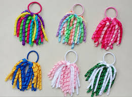 korker bows girl o a korker ponytail various color korker ribbons streamers