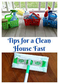 how to clean house fast tips for a clean house fast clever housewife