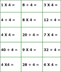 multiplication division quiz sheets timed math worksheets for 3rd