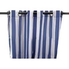 striped curtains u0026 drapes you u0027ll love wayfair