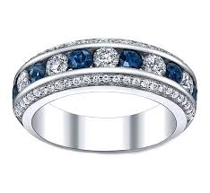 sapphire and wedding band sapphire wedding bands from mdc diamonds
