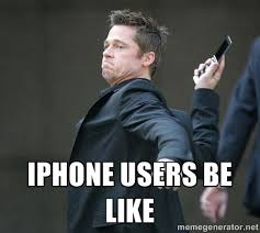 I Phone Meme - iphone users be like az meme funny memes funny pictures