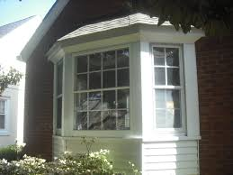 before and after bay window redo door store and windows