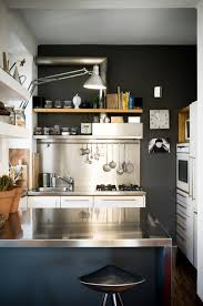 Small Kitchen With Reflective Surfaces 32 Brilliant Hacks To Make A Small Kitchen Look Bigger U2014 Eatwell101