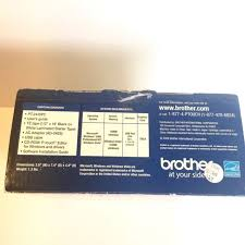 how to install brother p touch tape brother p touch pt 2430pc label printer a1 ebay