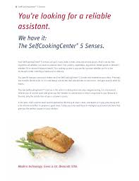 rational cuisine self cooking center rational 5 sense kitchenrama