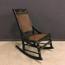 Antique Pressed Back Rocking Chair Antique French Rocking Chair For Sale At Pamono