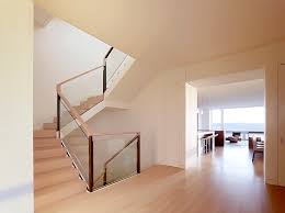 Banister Handrail Wood Railing Designs Staircase Modern With Banister Glass Railing