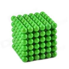 cheerlink cz 909 5mm glow in the iron balls set green