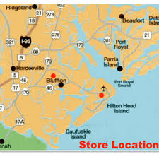 Map Of Beaufort Sc Store And Retail Locations In Beaufort Bluffton U0026 Hilton Head