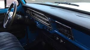 1971 f100 blue white interior pass side youtube