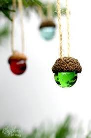 diy rustic acorn marble ornaments nature crafts tree