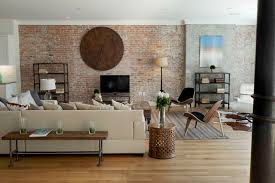 Spice Warehouse Tribeca Loft Living Room Industrial Living - New york living room design