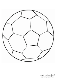 soccer ball coloring page at coloring book online