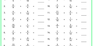 adding fractions answer key adding fractions classroom secrets