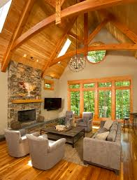 pictures of log home interiors timber frame timber frame home interiors new energy works home