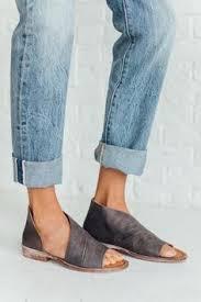 Shoo Zinc details closed toe version of fp fave mont blanc sandal these