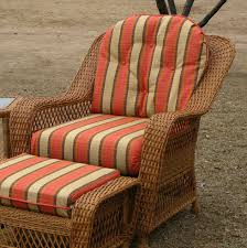 chair cushion set wicker style
