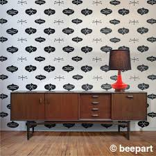 astonishing mid century modern wallpaper designs pictures