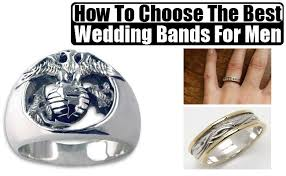 the best wedding band how to choose the best wedding bands for men tips to select