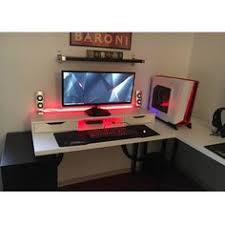Desk For Gaming Setup by Battlestation V2 Item Links In Description Desk Setup Desks
