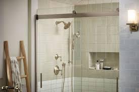 Kinkead Shower Door Parts by Accordion Style Shower Doors Good Doorless Shower Designs Teach