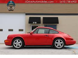 porsche 964 red 1993 porsche 911 964 carrera 4 coupe 5 speed