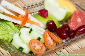 how to go on a raw food diet 13 steps with pictures wikihow