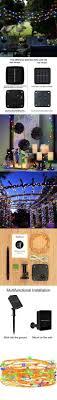 gbsell 20 4 m 200 led solar ls string wreaths wedding