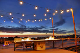 Patio Cafe Lights by Hanging Outdoor Lights Patio How To Decorate Your Patio With