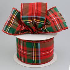 2 5 taffeta alford plaid ribbon 10 yards 92351w 065 40f