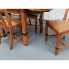Art Deco Dining Room Chairs Oak Dining Table U0026 Chairs 1930s Dinner Table