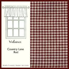 the gingham curtain red gingham curtains