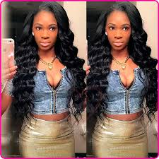 how to style brazilian hair 2017 new style deep wave brazilian hair full lace wigs 100 virgin