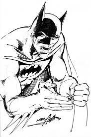 neal adams batman sketch 1979 in neil mechem u0027s comic art comic