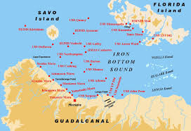 Guadalcanal Map February 2013 The South Pacific Express