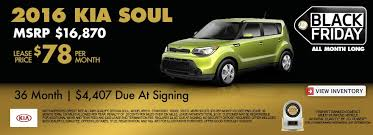 best black friday auto lease deals 2016 3 reasons to lease a kia soul for 78 per month for 3 years