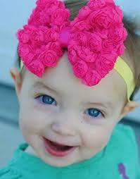 imagenes bellas de bebes bellas banditas diademas moños flores chiffon niña bebe 125 00