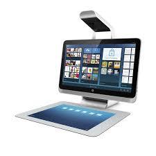 ordinateur de bureau sans unité centrale sprout un pc sans clavier ni souris signé hp