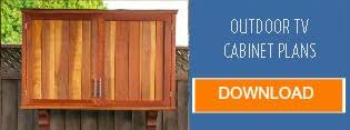 Build Outdoor Tv Cabinet Before You Install A Tv Outside Consider These 5 Things Diy Backyard