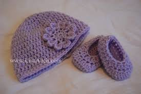 free crochet pattern for baby toddler and child hat booties