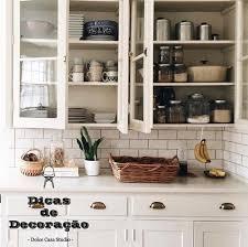 Amado Cristaleiras na cozinha. - Dolce Casa Studio #RJ47