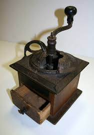 Useful Kitchen Items Coffee Mill And Spice Caddy Jefferson National Expansion